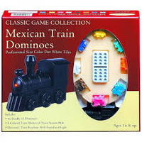 MEXICAN TRAIN DOMINOES (CLASSIC) (6)