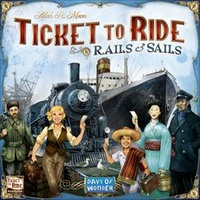 TICKET TO RIDE: RAILS & SAILS (4) (DOW)