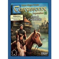 CARCASSONNE: INNS & CATHEDRALS EXP 1 (6)