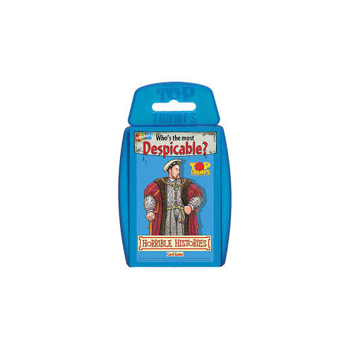 HORRIBLE HISTORIES TOP TRUMPS (6)